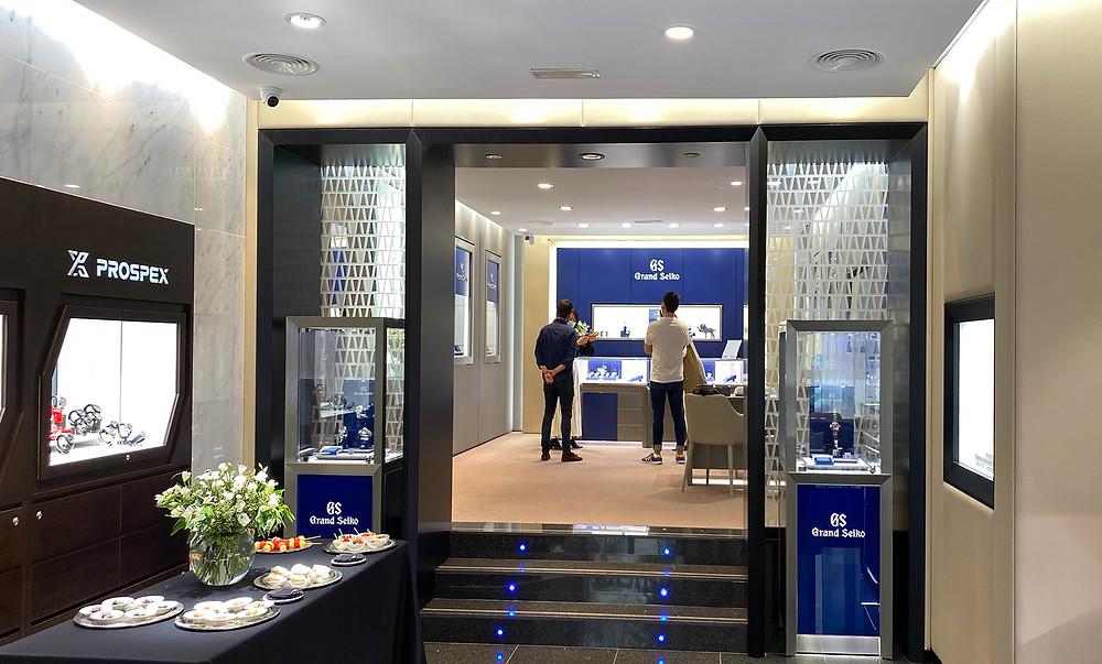 Nueva Seiko Boutique con relojes Seiko y Grand Seiko