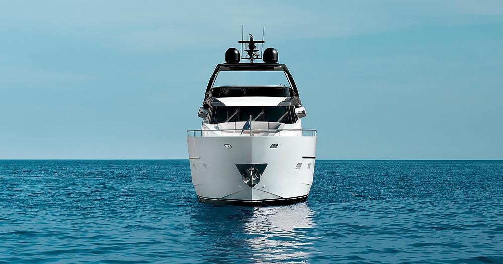 detalle proa yate sanlorenzo sl78 nuevo personalizable en sent-yacht