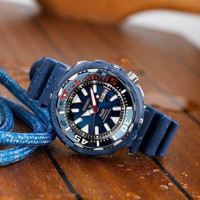 Reloj submarinismo PAdi x Seiko modelo SRPA83K1 tuna