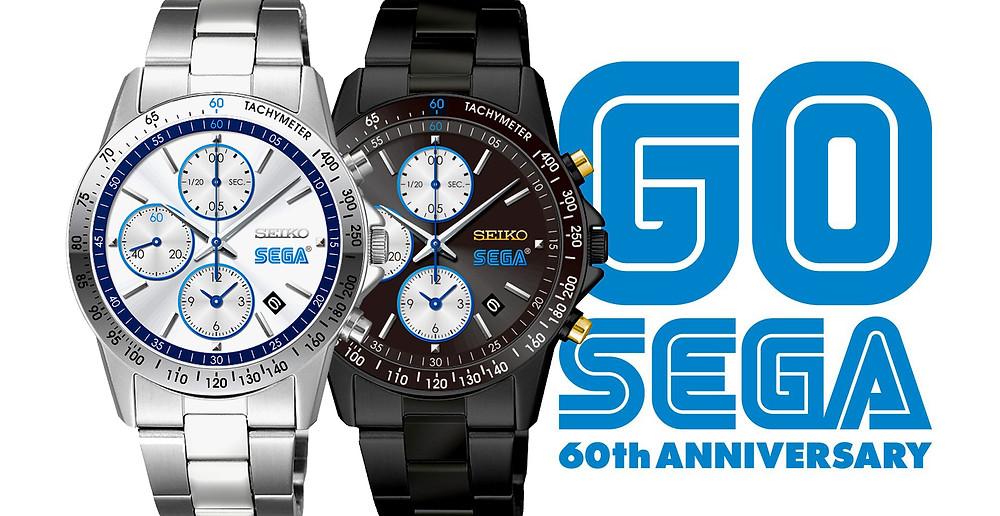 Reloj SEGA x SEIKO edicion limitada 60 años de la marca SEGA