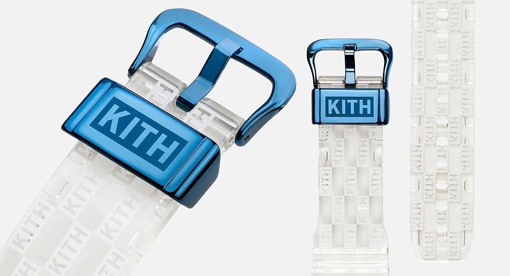 detalles correa reloj g-shock x kith GM-6900KITH-2CR