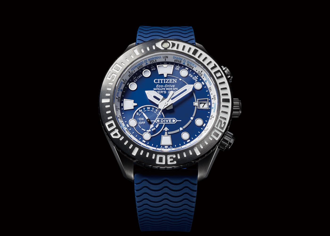 Esfera reloj diver's GPS Citizen cc5006-06l