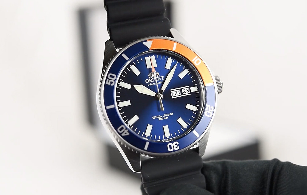 orient watch divers kano- 4mm 200m automatico RA-AA0916L