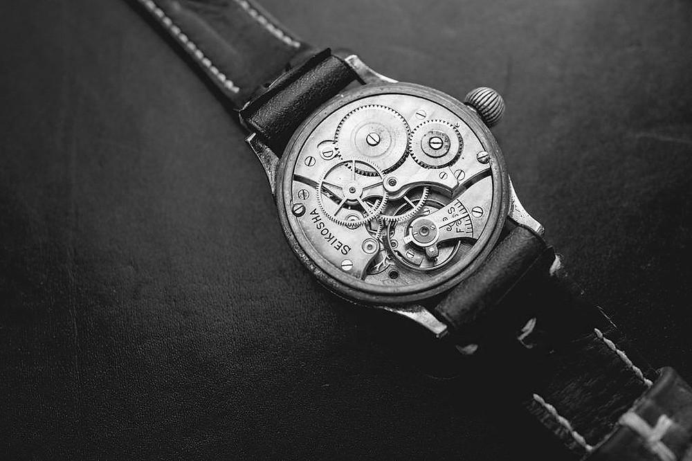 reloj japones Seikosha tensoku