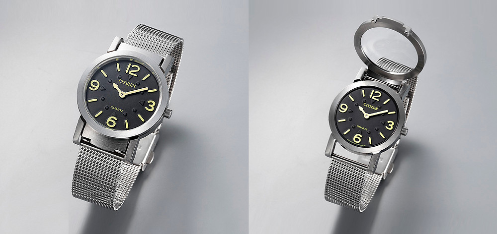 Reloj especial Citizen para personas ciegas AC2200-55E