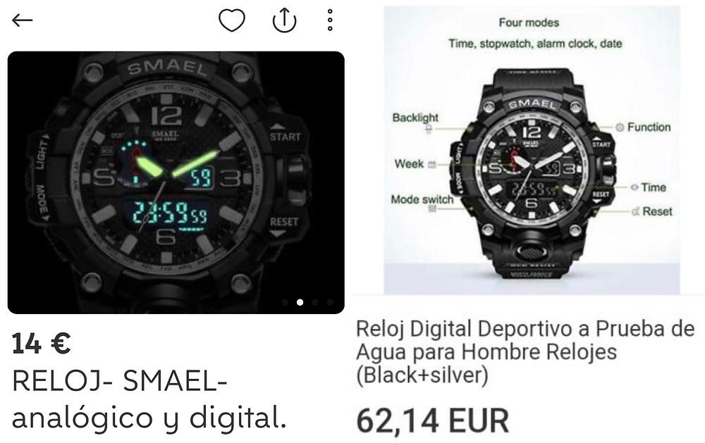 Relojes de imitacion y falsificaciones G-Shock: como reconocerlos