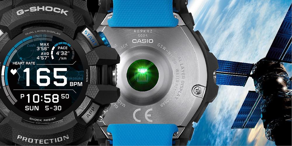 detalle gps ajuste satelital geolocalizacion reloj g-shock gsw-h1000