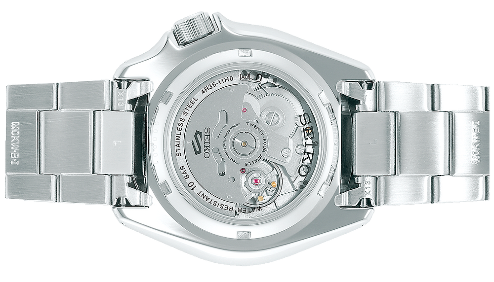 reloj 5 Sports SRPG47K1 tapa de fondo con ventana hardlex