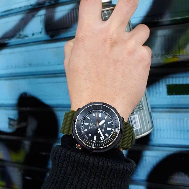 Nuevo reloj 2020 Seiko solar diver's modelo SNE547P1