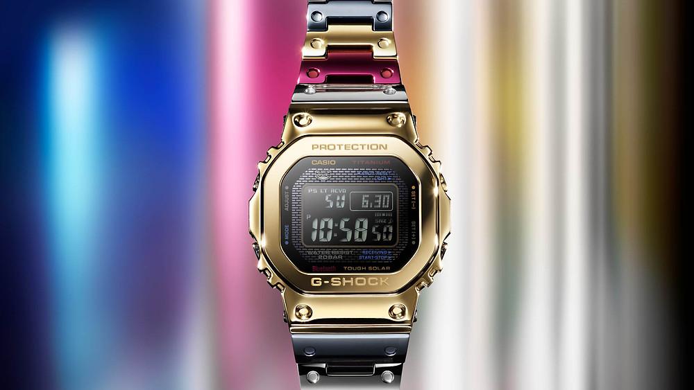 novedad 2021 reloj casio G-SHOCK gmw-B5000tr-9 tran-tixxii