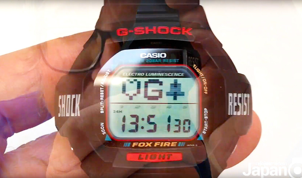 Video-review relojes Casio G-Shock vintage DW-8020 de 1995