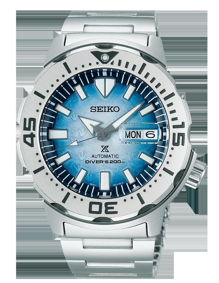 reloj Seiko Prospex Save The Ocean Monster SRPG57K1 Antartic