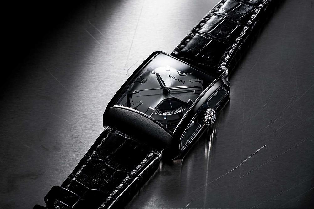 reloj Minase japones edicion limitada 15 aniversario creacion marca