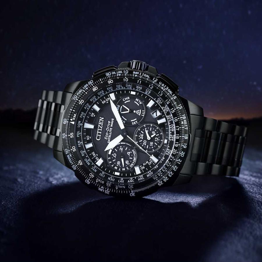 Reloj Citizen Promaster GHPS titanio Zafiro Sky  CC9025-51E