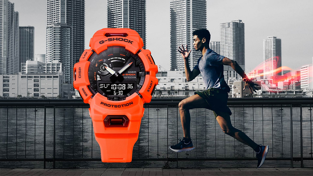 reloj deportivo connected acelerometro casio g-shock gba900 novedad 2021