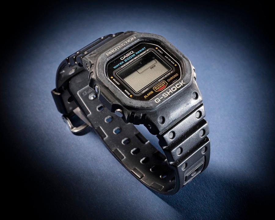 Casio G-Shock exhibido en el National Air and Space Museum Collection