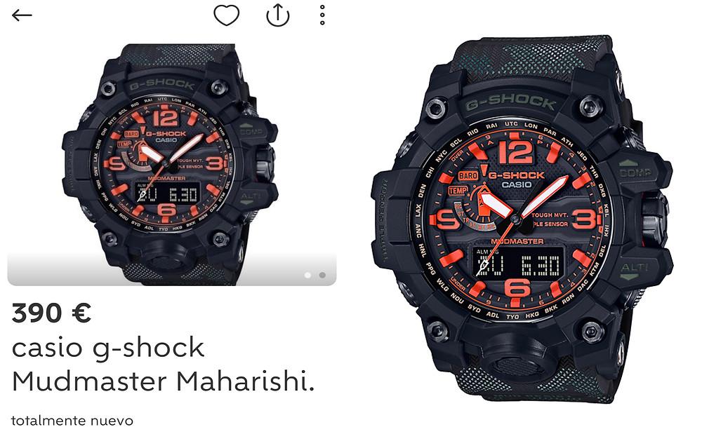 reloj Maharishi G-Shock Mudmaster