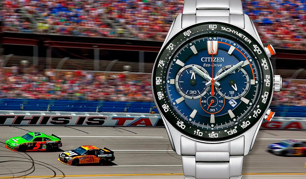 reloj deportivo crono Citizen of collection 2021 novedad CA4486-82L