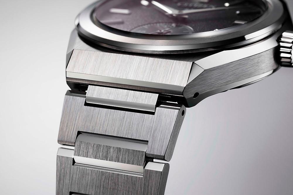 detalle pulsera acero reloj citizen NC0200-90E