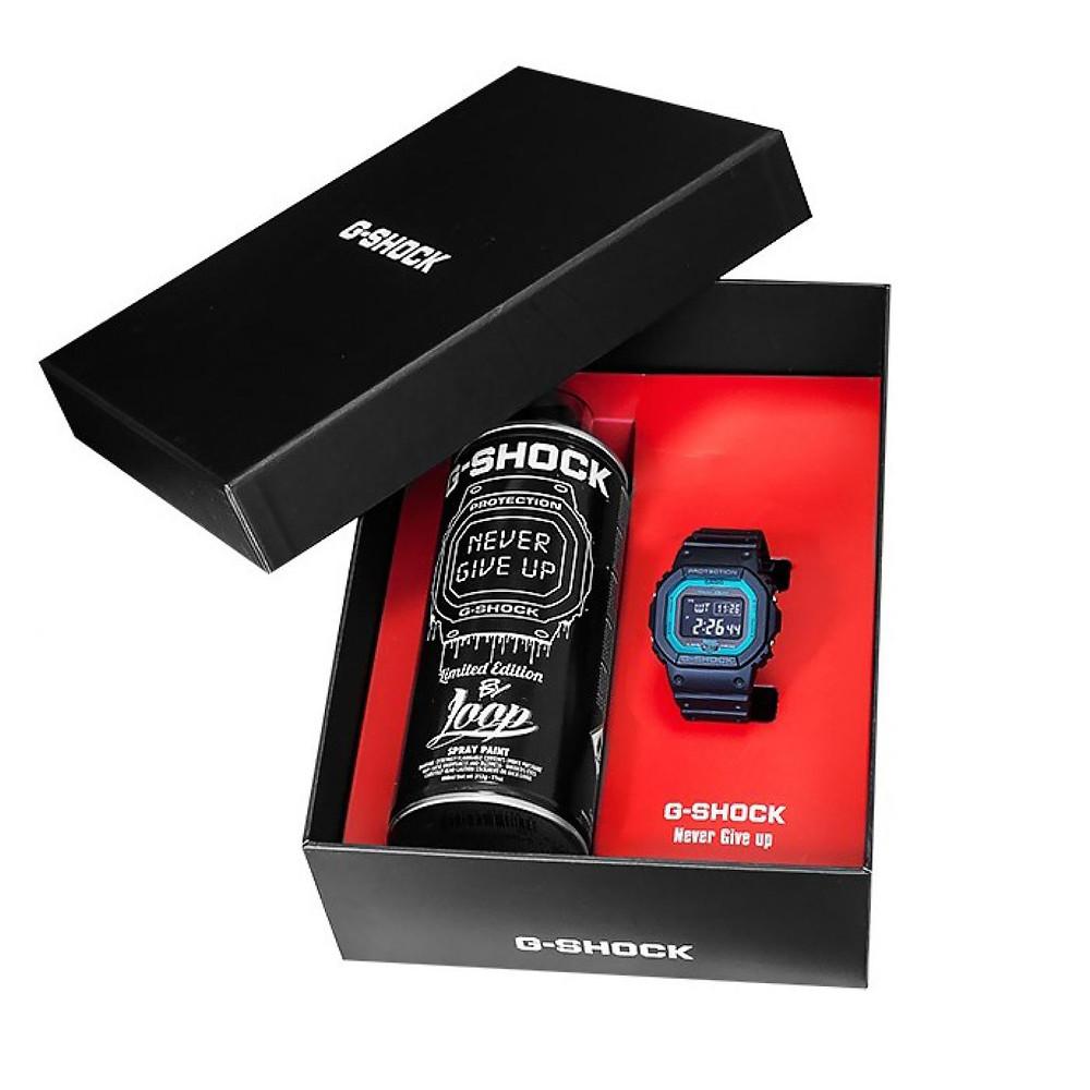 Detalle edición limitada reloj GW-B5600-2ER-FR