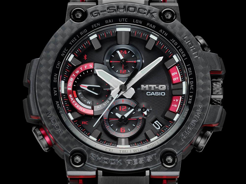 Nuevo reloj MTG fibra carbono MTG-B1000XBD-1AER