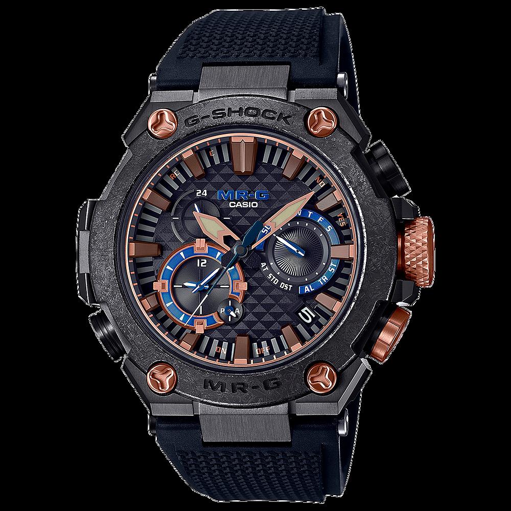 reloj- MR-G de casio, pieza tecnologica de lujo ref. MRG-B2000R-1ADR