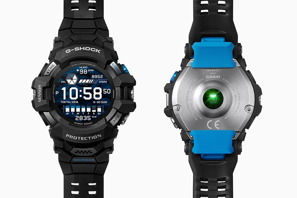nuevo reloj casio gsw-h1000 primer smartwatch de la historia g-shock