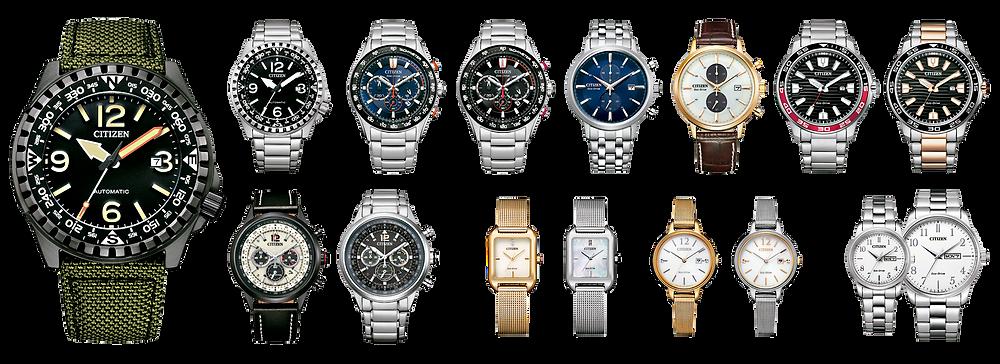 todos los of collection enero 2021 citizen relojes