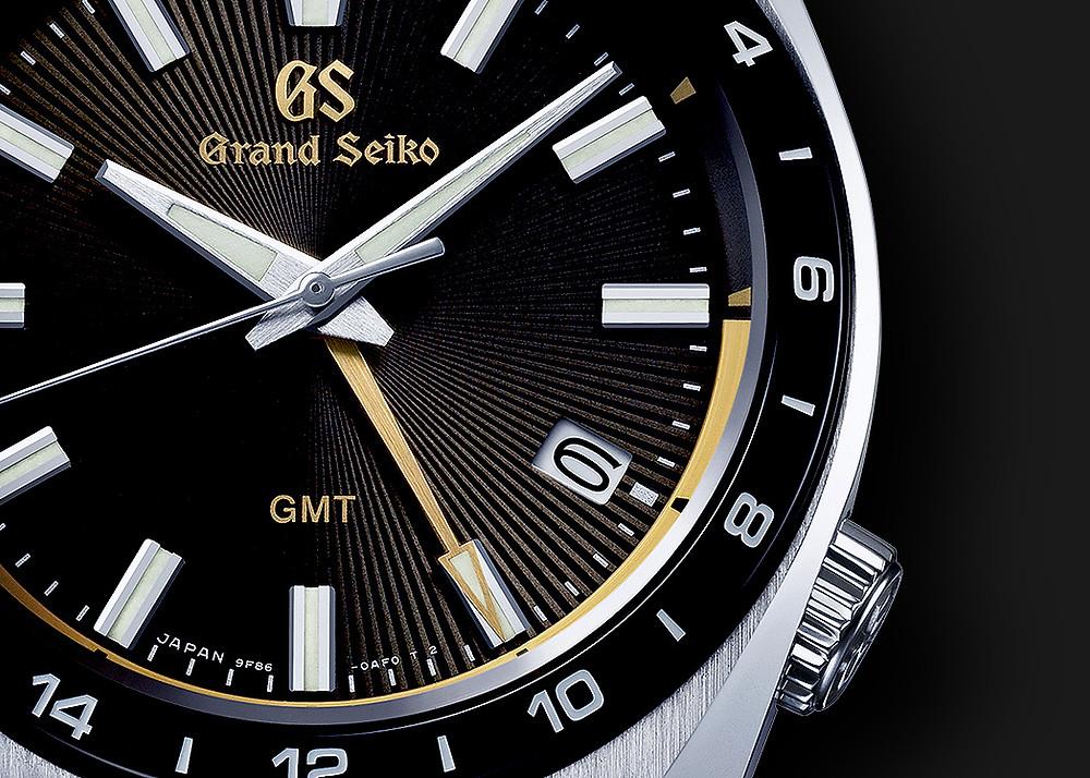 Detalle esfera reloj Grand Seiko SBGN023G 2021 edicion limitada a 2021 piezas