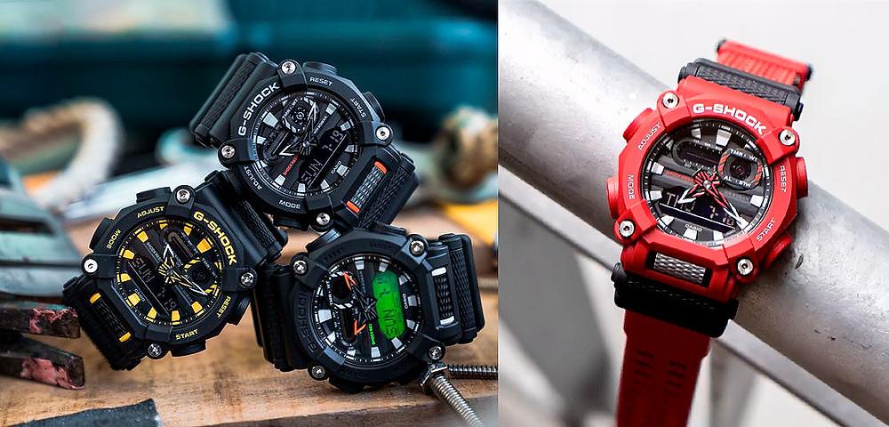 Nuevos relojes casio G-Shock Heavy Duty line 2020 ref GA900