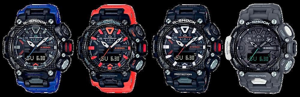 todos- os nuevos relojes gravitymaster serie grb200