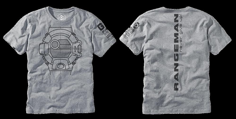 Camiseta de edicion limitada a 100 unidades G-Shock Rangeman GW9400