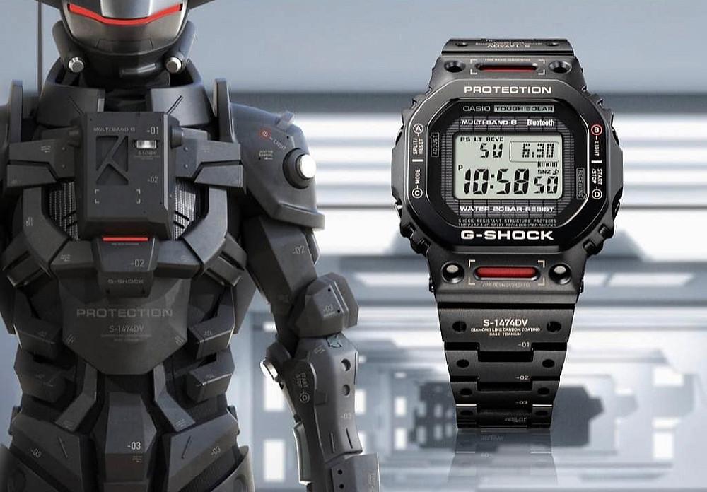 Edición limitada G-Shock squared full metal GMW-B5000TVA 2021