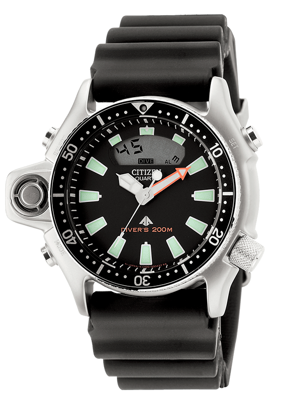 Citizen Aqualand 1, un reloj Diver's icónico