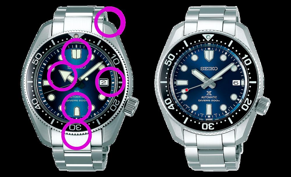 comparativa seiko mm200 SPB187J1- versus SPB077J1