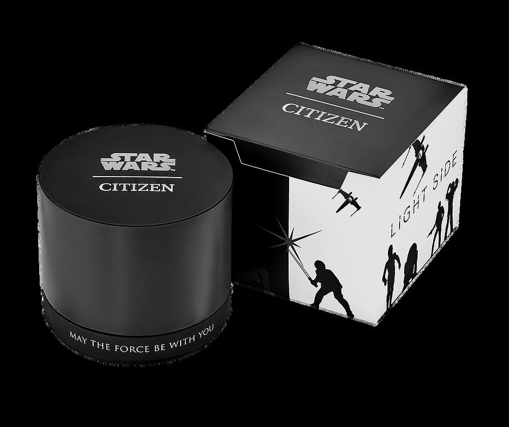 caja reloj edicion especial citizen star wars Rebel Pilot