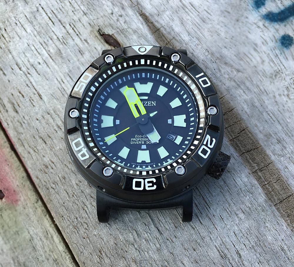 adaptadores suppaparts para relojes citizen promaster 'zilla' todas las series bn01, bn20 blackzilla solarzilla etc
