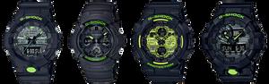 nuevos relojes serie Digital camouflage de Casio G-Shock