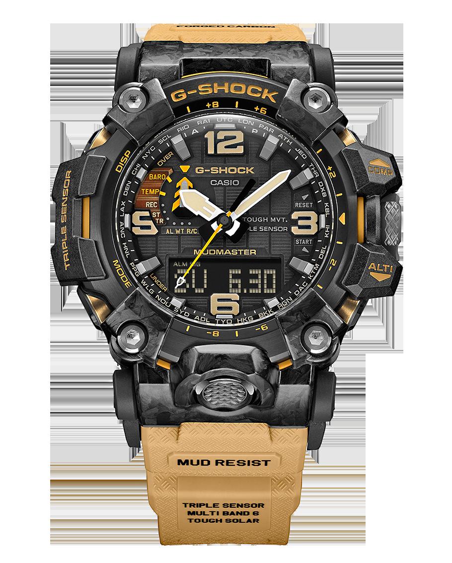 DEtalle vista frontal reloj gwg-2000-1a5er