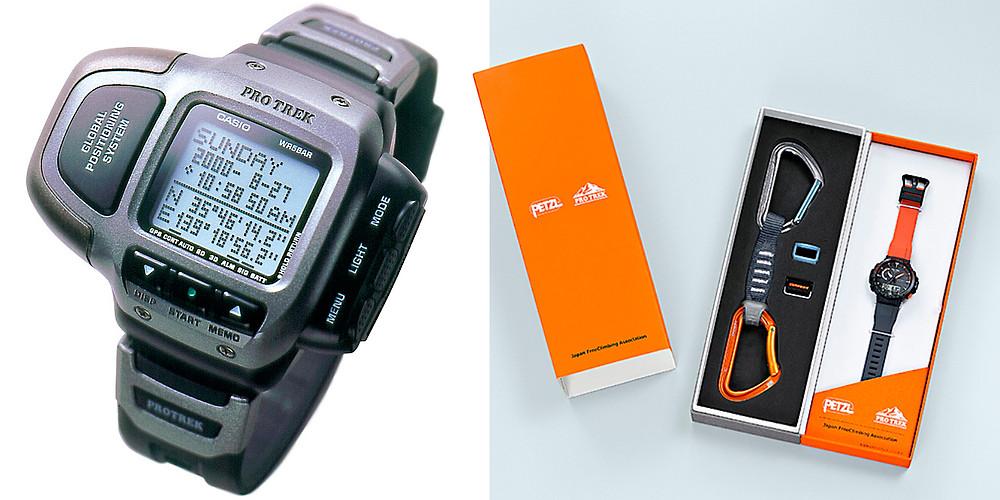 relojes casio pro-trek prt-1gp y ultimo-modelo PRW-60YJP-1