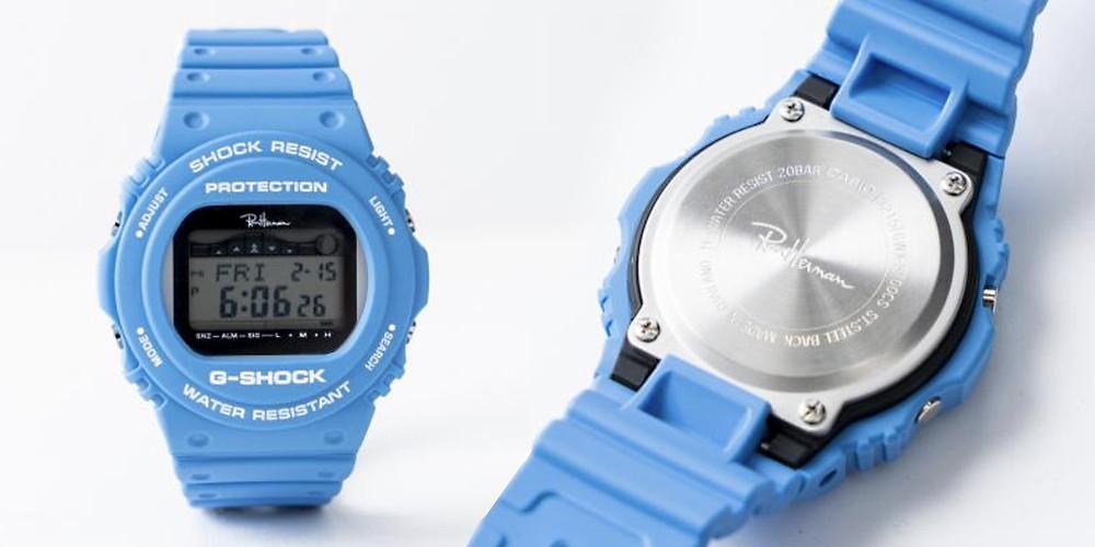 Reloj digital marca G-Shock edicion limitada Ron Herman GWX-5700-2019.