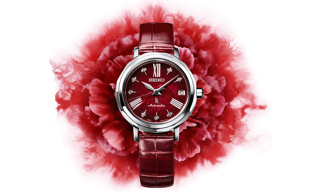 reloj para mujer Seiko Lukia SPB135 con diamantes