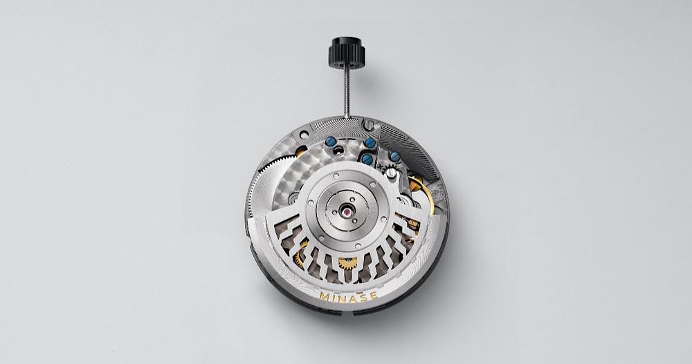 nuevo calibre automatico Minase KT7002 basado en el ETA 2892A2