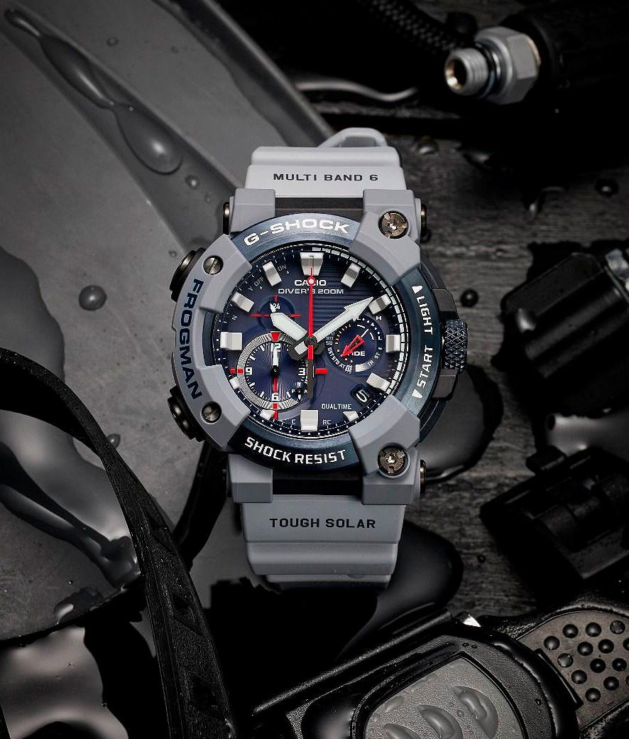reloj  Diver's royal navy frogman gwf-a1000rn-8aer lanzado uk 8/4/2021