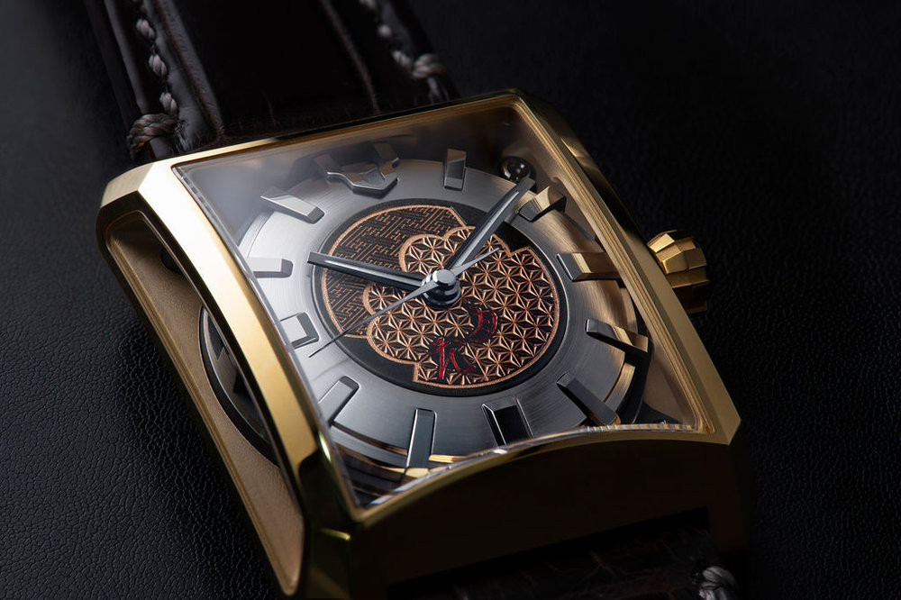 manufactura japonesa Minase reloj masterpiece collection
