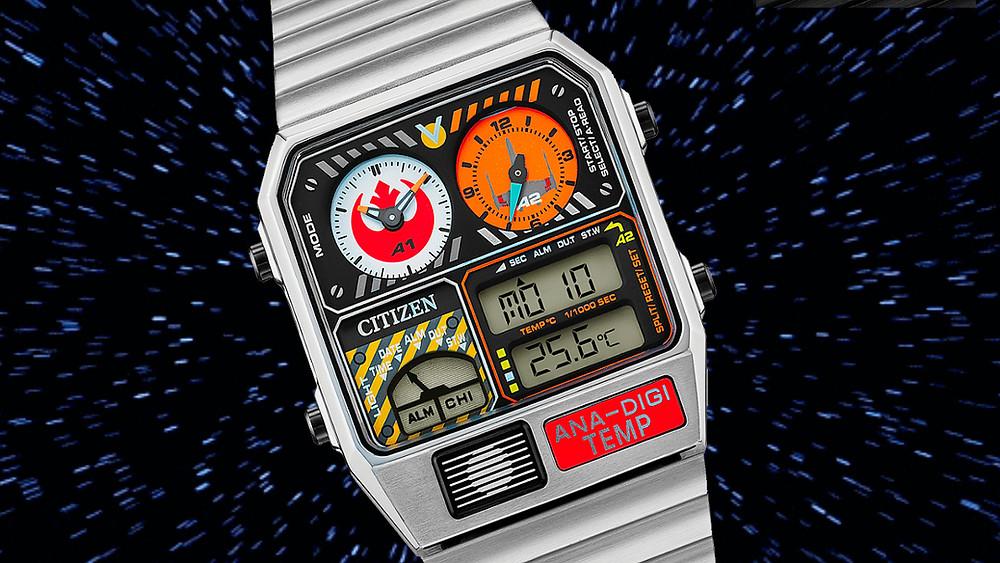 reloj citizen edicion star wars 2021 USA fuerzas rebeldes
