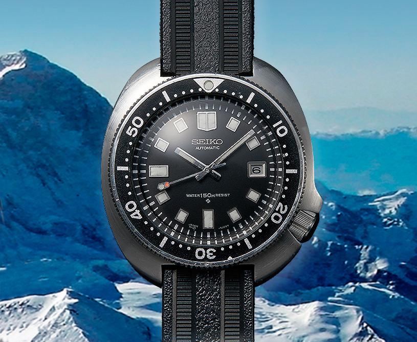 reloj seiko 6105B del año 1970, famoso apo o apodado captain willard