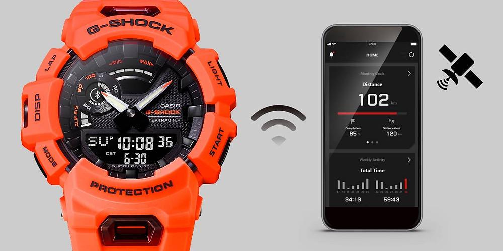 conexión bluetooth a app move de última generación en el GBA-900