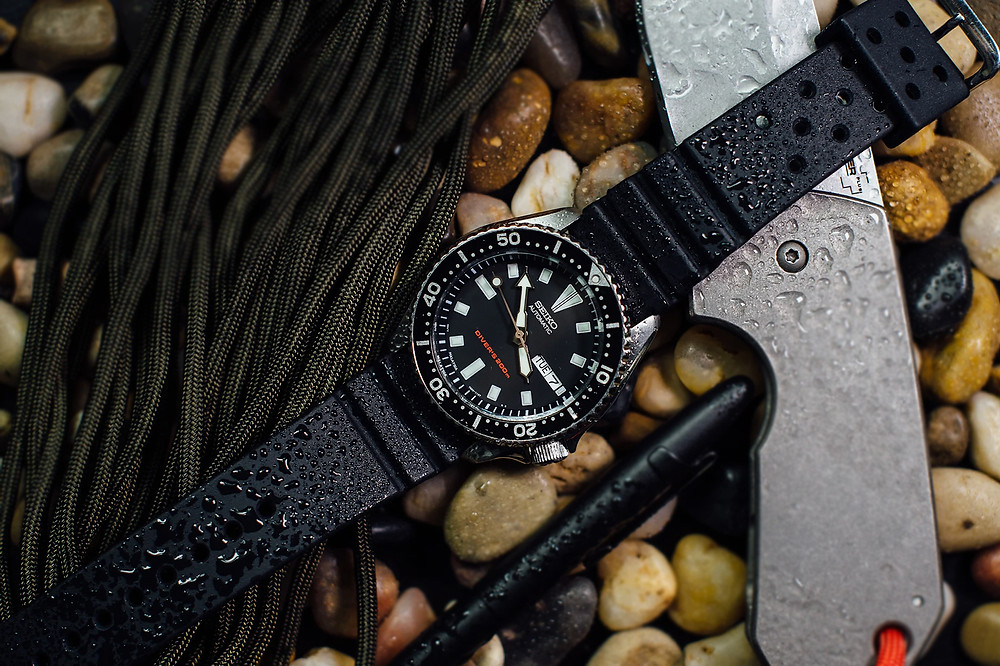 reloj iconico divers marca seiko 200m skx0077
