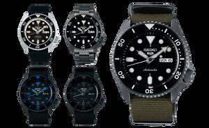 5 relojes Seiko 5 Sports seleccionados en relojes made in japan